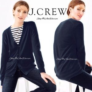 J. Crew collection cashmere boyfriend cardigan